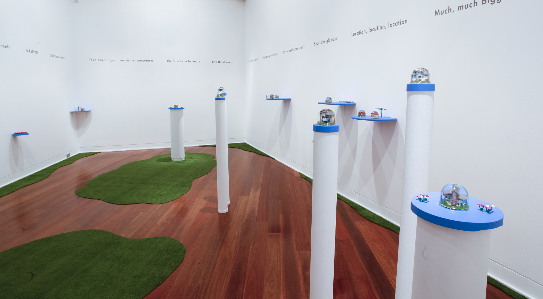 """Opportunity knocks"" Wollongong City Gallery 2012"